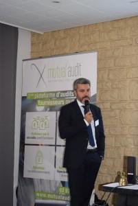Maître Nicolas Gransard, Cabinet FIDAL, lors du Cluster Mutual Audit du 28 Septembre 2018